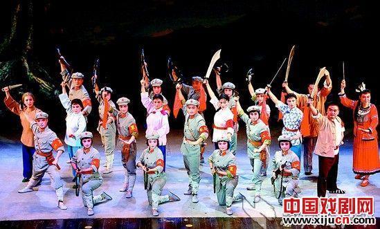"""汉剧青春版《红色娘子军》将亮相""""中国梦·庆祝新中国"""